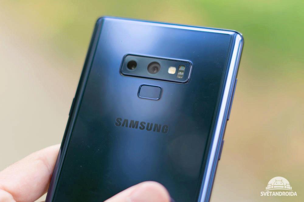 Samsung Galaxy Note 9 dualni fotoaparat