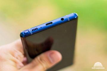 Samsung Galaxy Note 9 spodni strana
