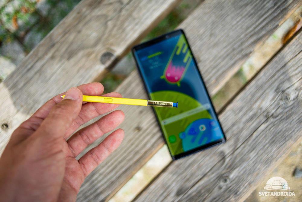 Samsung Galaxy Note 9 stylus S Pen