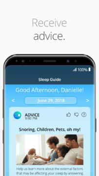 SleepScore aplikace
