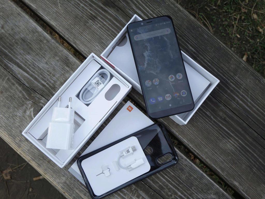 Xiaomi Mi A2 obsah baleni