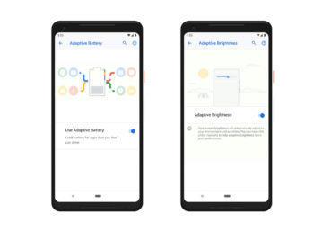 android 9 pie adaptivni displej baterie