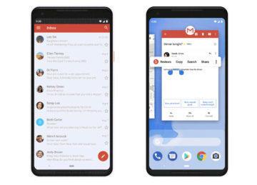 android 9 pie gesta ovladani navigacni lista