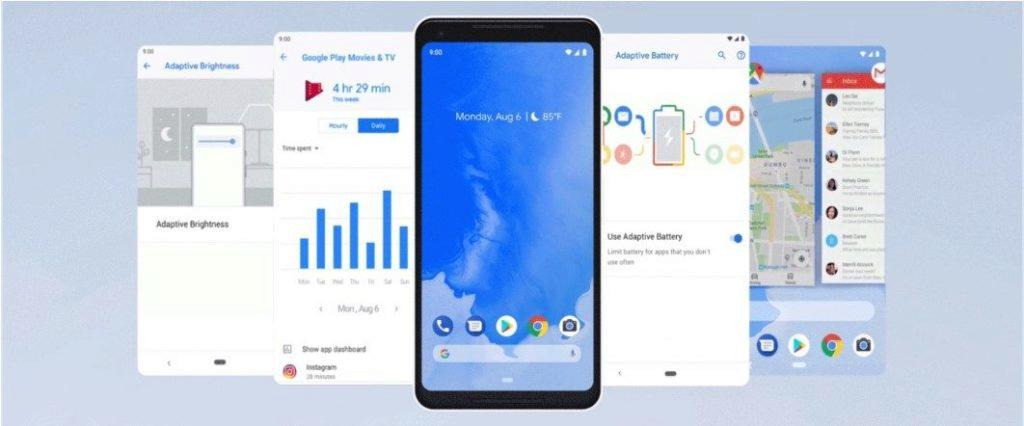android 9 pie google system