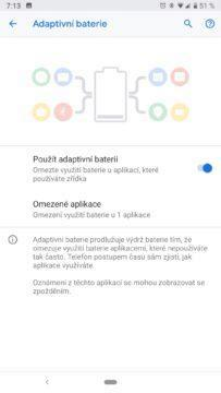 android 9 pie nove funkce