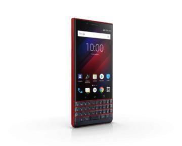 blackberry key2 le cervena barva