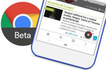 Spodní lišta v Chrome prohlížeči je zpět: Stačí si nainstalovat beta verzi
