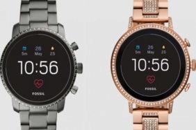chytre hodinky fossil q venture q explorist