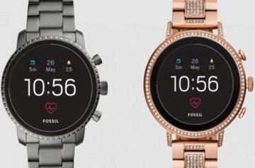 Fossil představil chytré hodinky čtvrté generace: Podporují měření tepu, NFC i GPS