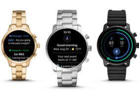 chytre hodinky wear os system novy design google
