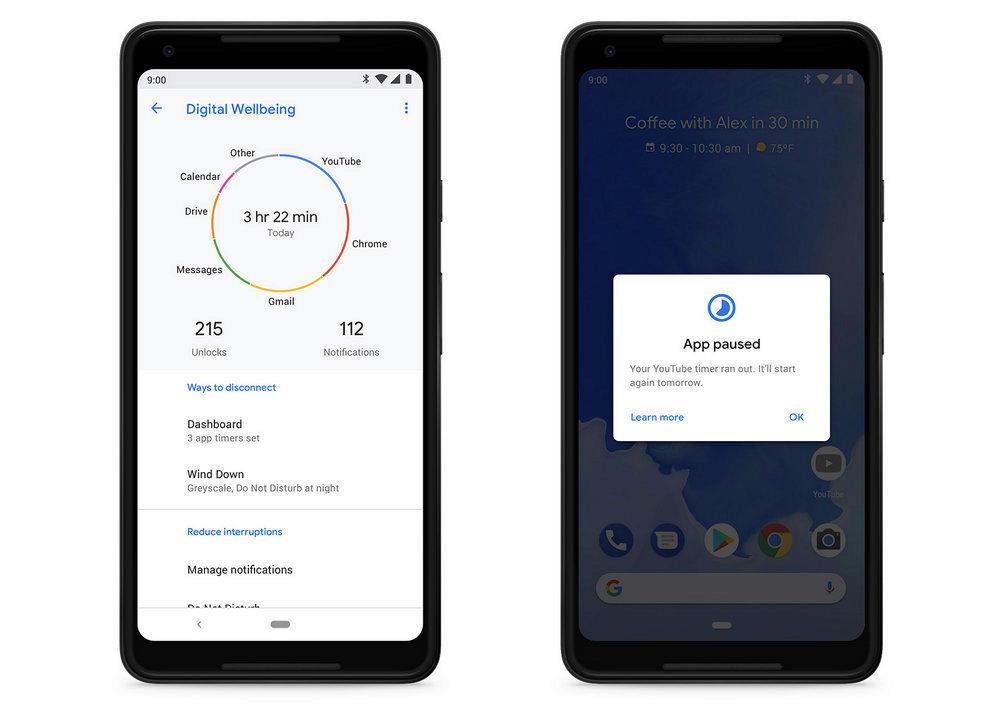 digitalni pohoda google android 9 pie