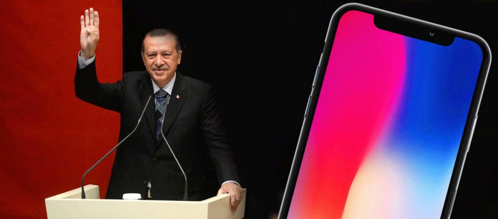 erdogan bojkot iphone turecko apple