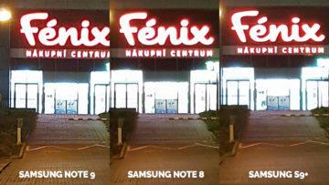 fenix nocni napis test fotoaparatu