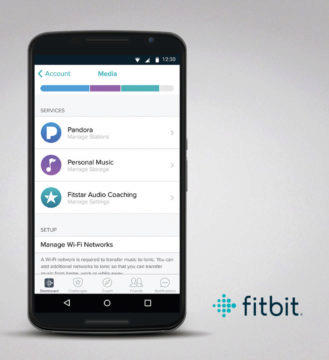fitbit android aplikace