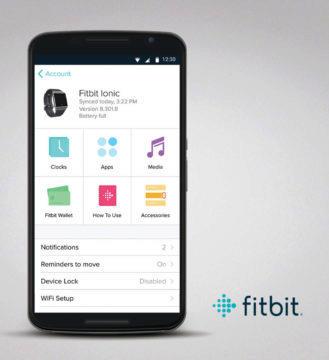 fitbit aplikace