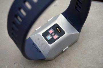 fitbit ionic senzory