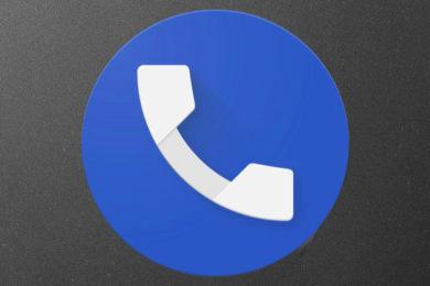 google telefon material design tmavy rezim