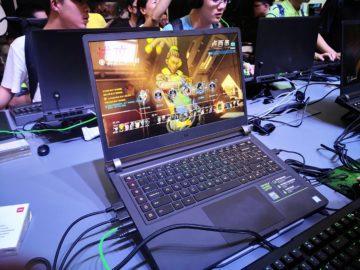 herni notebook xiaomi mi notebook pro 2