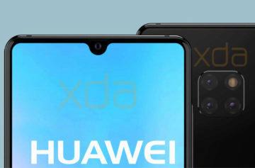 Huawei Mate 20 bude mít menší výřez a opět nebudou chybět 3 fotoaparáty