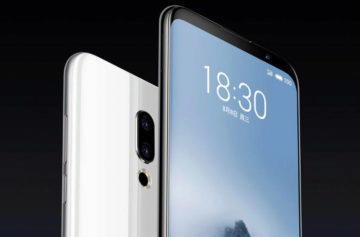 Meizu 16 představen: TOP telefon s tenkými rámečky, čtečkou otisků v displeji a nízkou cenou