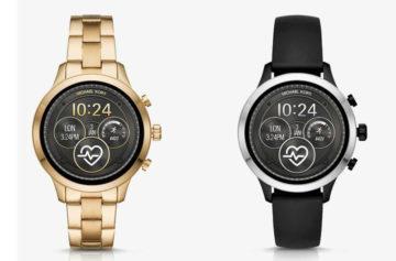 Michael Kors představil designové chytré hodinky: Ve výbavě nechybí GPS a NFC