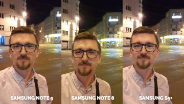 nocni selfie samsung galaxy test fotoaparatu