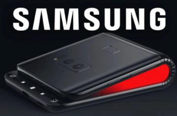 Bude takhle vypadat ohebný telefon Samsung? První koncepty vypadají zajímavě
