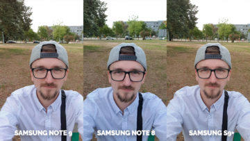 selfie samsung galaxy note 9 vs note 8 vs s9+