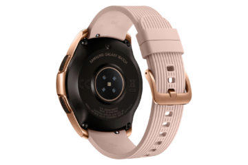 senzor chytrych hodinek samsung galaxy watch