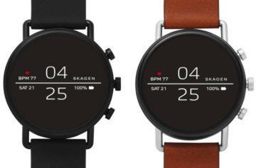 Skagen Falster 2 představeny: Chytré hodinky s NFC, GPS a minimalistickým designem