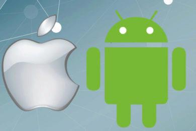 studie android ios uzivatelska data