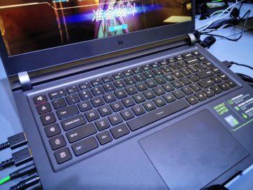 touchpad herni displej notebook xiaomi