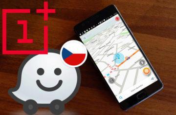 Telefony OnePlus mají v navigaci Waze problémy s GPS