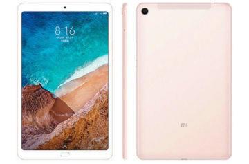 Xiaomi Mi Pad 4 Plus představen: Vylepšený tablet s větším displejem a baterií