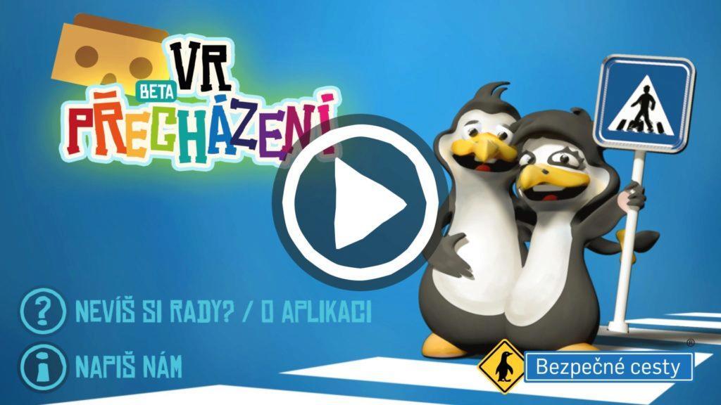 Naučte své děti přecházet silnici pomocí virtuální reality