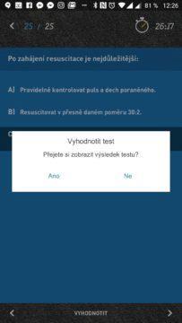 Chcete test vyhodnotit?