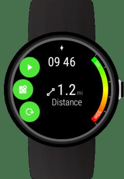 GPS appfour wear os