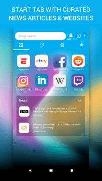 Ghostery Privacy Browser aplikacd