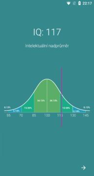 IQ test aplikace