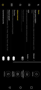LG G7 ThinQ fotoapp nastavení