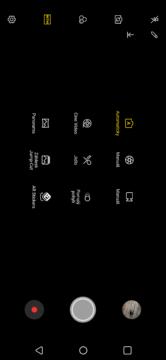 LG G7 ThinQ fotoapp režimy