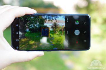 LG G7 ThinQ fotografování
