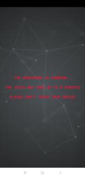 Nedotýkejte se telefonu AI Benchmark