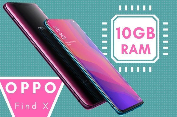 Telefon Oppo Find X 10GB RAM