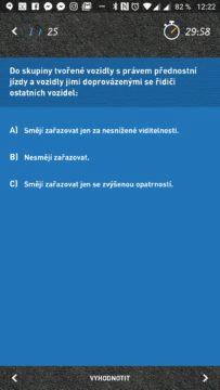Otázka ze závěrečného testu