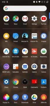 Launcher z telefonů Pixel