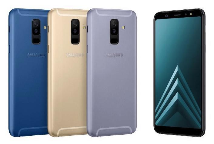 Samsung Galaxy A6+ barevné varianty