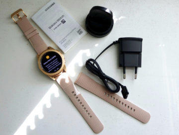 Samsung Galaxy Watch obsah baleni