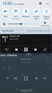 Spotify-aplikace-android