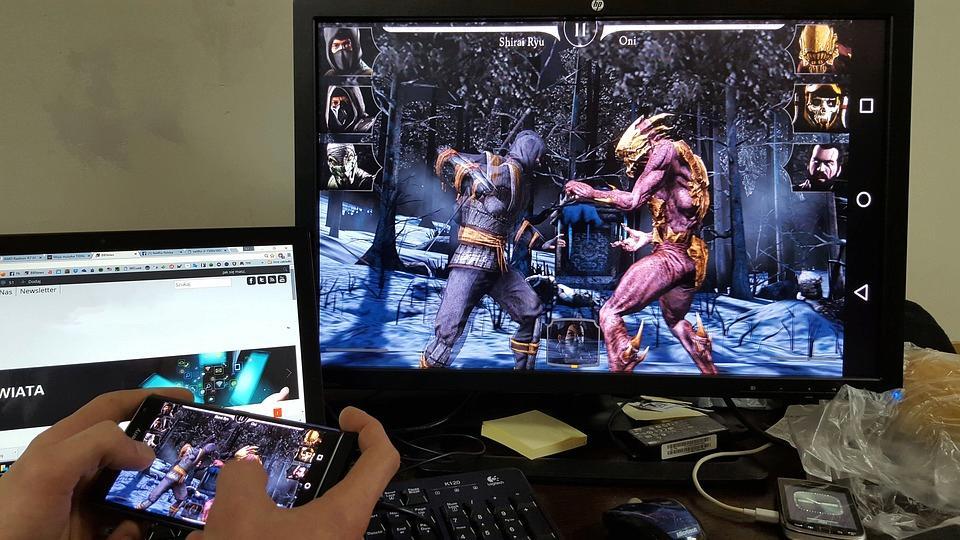 Telefon se může přehřát při hraní her
